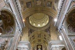 Église de Barroco du Gesu Nuovo, Naples, Italie photographie stock