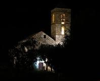 Église de Barruera n les Pyrénées catalans l'espagne Photo stock