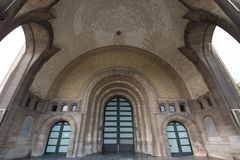 Église de Basilique à Bruxelles Photo stock