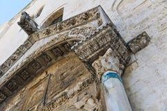 Église de basilique de St Nicola bari La Puglia l'Italie photos stock