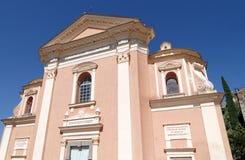 Église de Belgodere en Corse images libres de droits