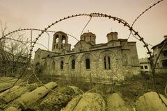 Église de Bogorodica Ljeviska de Prizren (article de l'UNESCO) Images libres de droits