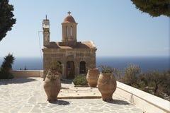 Église de bord de la mer Photo libre de droits