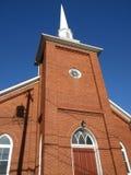 Église de brique assez rouge Image libre de droits