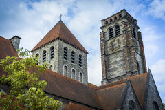 Église de Brise de saint dans Tournai, Belgique Photo stock