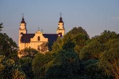 Église de Budslav Photographie stock libre de droits