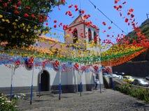 Église de Calheta Image stock