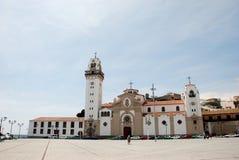 Église de Candelaria, Tenerife Photos stock