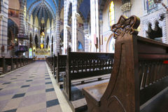 Église de capucin, Cordoue (Argentine) Photo stock