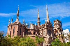 Église de capucins à Cordoue photos stock