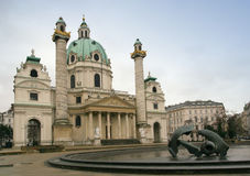 Église de Carls, Vienne photo libre de droits