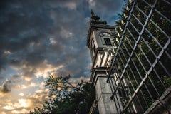 Église de cathédrale à Belgrade Photos stock