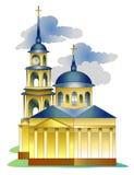 Église de cathédrale illustration de vecteur