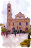 Église de cathédrale Photos stock