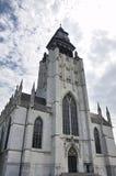 Église de chapelle (Notre-Dame de la Chapelle), Bruxelles, Belgique photos stock