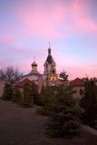 Église de Christian Orthodox dans vieil Orhei, Moldau Photos stock