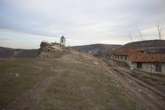 Église de Christian Orthodox dans vieil Orhei, Moldau Photographie stock libre de droits