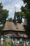 Église de cimetière de rue Mary Images stock