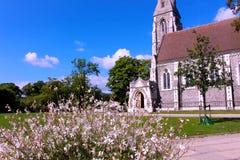 Église de Copenhague St Albans Photos libres de droits