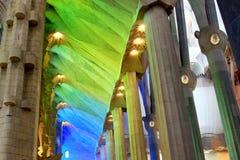 Église de couleurs Photo stock