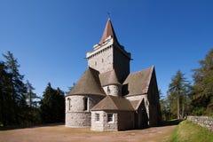 Église de Crathie, Aberdeenshire, Ecosse Images stock