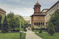 Église de Cretulescu, Bucarest, Roumanie Photos libres de droits