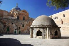 Église de dôme de la tombe sainte photos stock