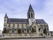 Église de Deinze photographie stock libre de droits
