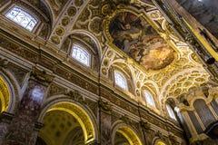 Église de DES Francais de Saint Louis, Rome, Italie Image stock