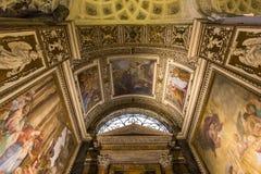 Église de DES Francais de Saint Louis, Rome, Italie Images libres de droits