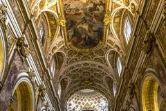 Église de DES Francais de Saint Louis, Rome, Italie Photos stock