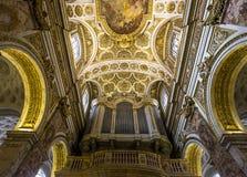 Église de DES Francais de Saint Louis, Rome, Italie Photographie stock libre de droits