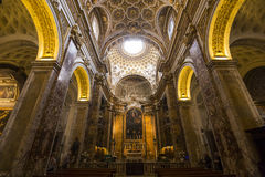 Église de DES Francais de Saint Louis, Rome, Italie Photo stock