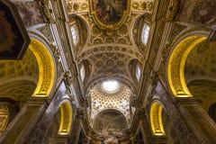 Église de DES Francais de Saint Louis, Rome, Italie Images stock