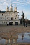 Église de douze apôtres de Moscou Kremlin Photo couleur Image libre de droits