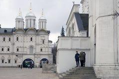 Église de douze apôtres et place de Sobornaya Photo libre de droits
