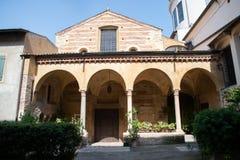 Église de ` Elena, Vérone, Italie de Sant image stock