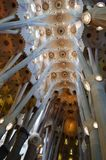 Église de Gaudi Sagrada Familia à Barcelone Photo libre de droits