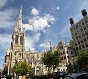 Église de grâce à New York inférieur Images libres de droits