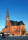 Église de Gustav Adolf à Helsingborg, Suède images libres de droits