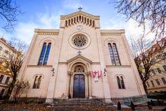 Église de Gustav Adolf à Vienne, Autriche Photographie stock