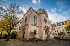 Église de Gustav Adolf à Vienne, Autriche Images stock