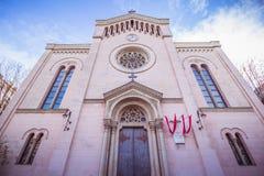 Église de Gustav Adolf à Vienne, Autriche Images libres de droits