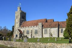 Église de Harrietsham image libre de droits