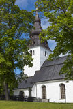 Église de Hudiksvall Photos libres de droits
