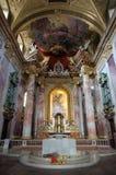 Église de jésuite à Vienne Images stock