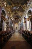 Église de jésuite à Vienne Photographie stock