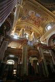 Église de jésuite à Vienne Image stock