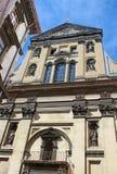 Église de jésuite de St Peter et de St Paul à Lviv, Ukraine Photographie stock libre de droits