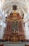 Église de jésuite en luzerne Images libres de droits